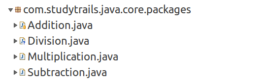 java import folder